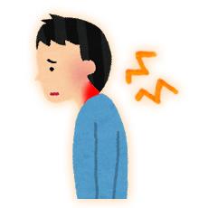 首痛のイメージ